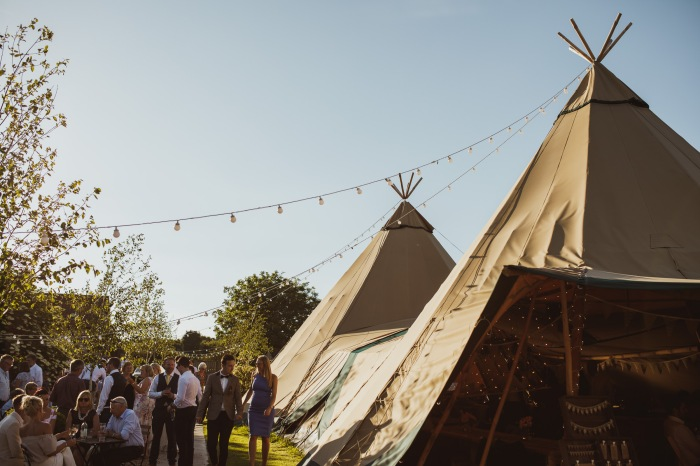 North Yorkshire tipi wedding venue